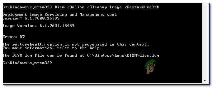 Fix: DISM-Fehler 87 unter Windows 10