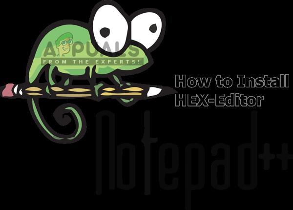 So installieren Sie das Notepad ++ Hex Editor Plugin