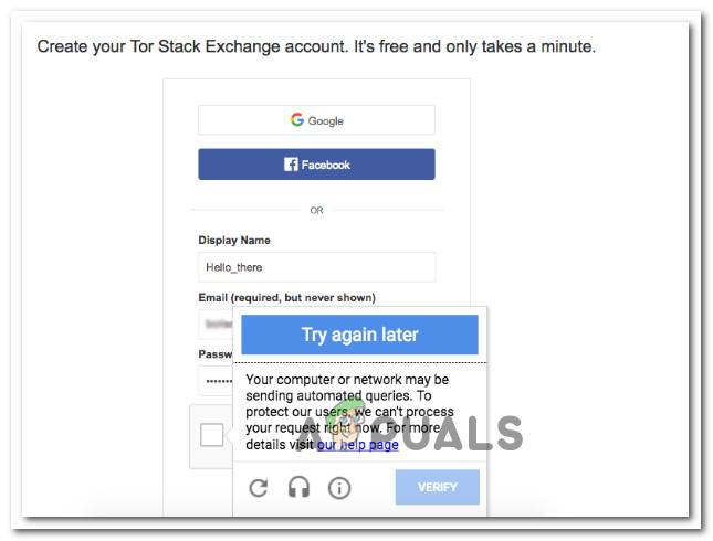 Fix: Recaptcha funktioniert nicht in Google Chrome