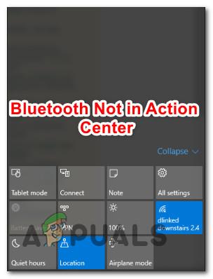 Fix: Bluetooth nicht im Action Center Windows 10