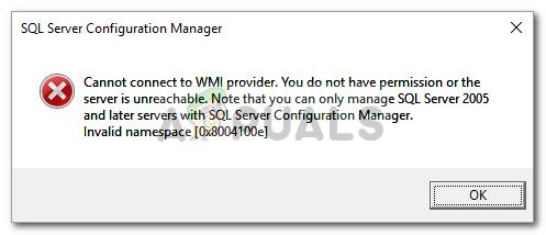 Fix: Unter Windows 10 kann keine Verbindung zum WMI-Anbieter hergestellt werden