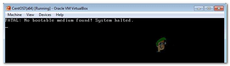 Fix: VirtualBox Fatal Kein bootfähiges Medium gefunden Fehler
