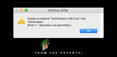 Fix: Zip-Datei kann auf dem Mac nicht erweitert werden
