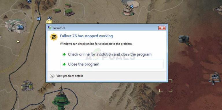 Fix: Fallout 76 Crashing – Appuals.com