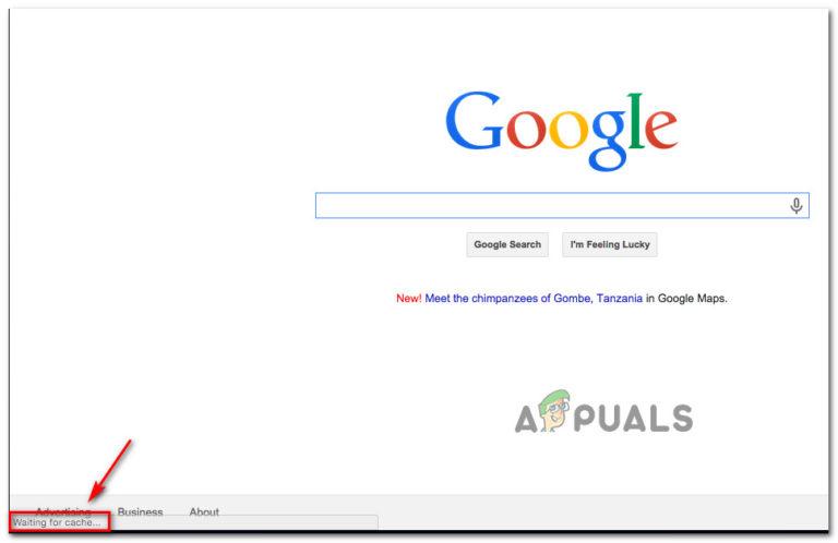 """Fix: Google Chrome """"Warten auf Cache"""""""