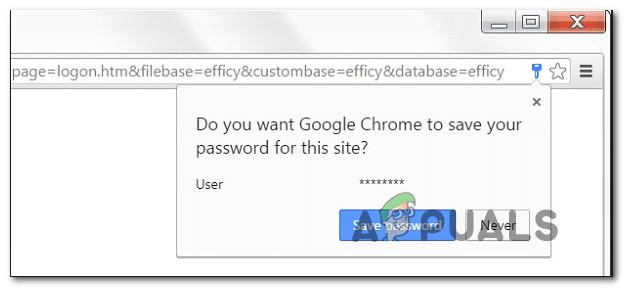 Fix: Google Chrome speichert keine Passwörter