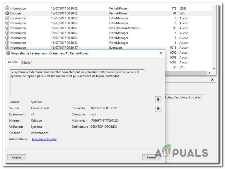 Fix: Power Kernel BSOD (70368744177664), (2)