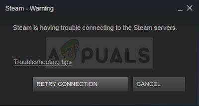 Fix: Steam hat Probleme beim Herstellen einer Verbindung zu den Steam-Servern