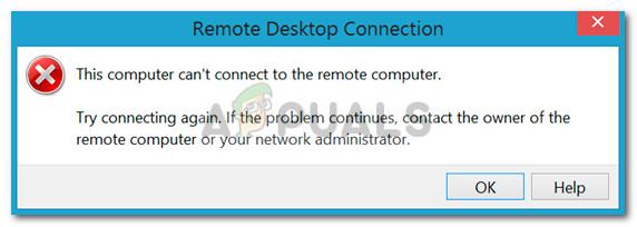 Fix: Dieser Computer kann keine Verbindung zum Remote-Computer herstellen