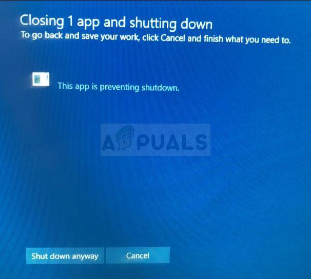 Fix: Toshiba-Flash-Karten verhindern das Herunterfahren in Windows 10