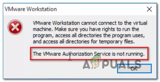 Fix: VMware Authorization Service wird nicht ausgeführt