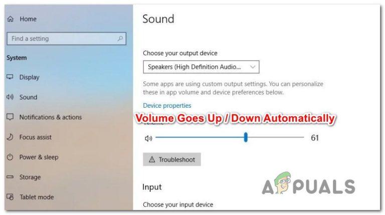 Fix: Lautstärke wird unter Windows 10 automatisch verringert / erhöht