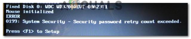 Fix: Windows-Fehler 0199 Anzahl der Sicherheitskennwortwiederholungen überschritten