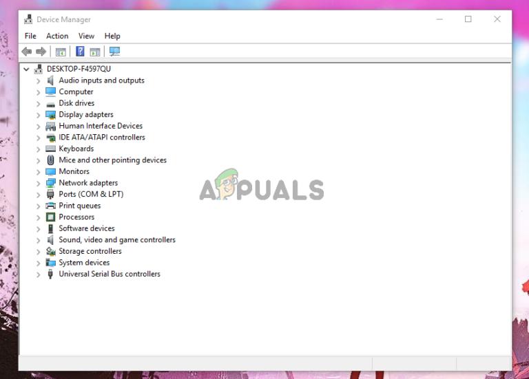 So öffnen Sie den Geräte-Manager in Windows 10