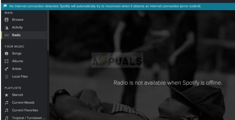 So beheben Sie Fehlercode 4 in Spotify