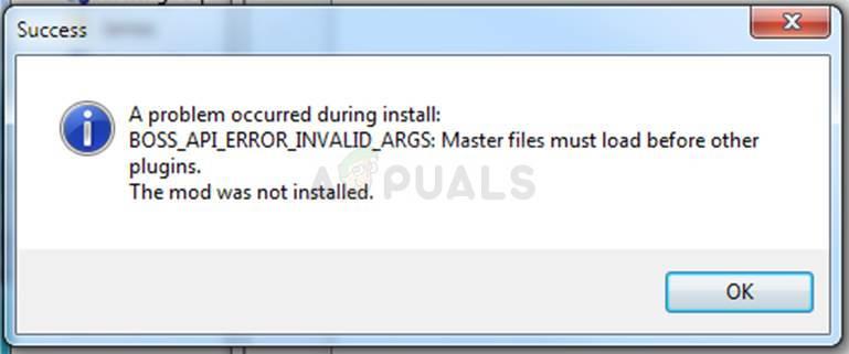 """Fix: Nexus Mod Manager """"Während der Installation ist ein Problem aufgetreten."""""""