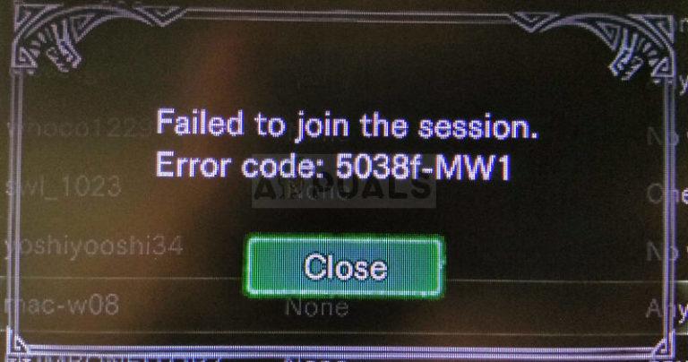 So beheben Sie den Fehler 5038f-MW1 bei Monster Hunter World
