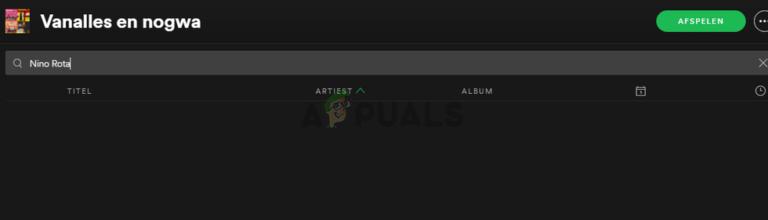Fix: Spotify-Suche funktioniert nicht