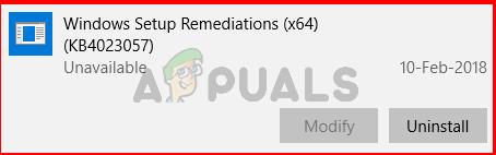 Was ist Windows Setup Remediation (KB4023057)?