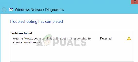 Fix: Die Website ist online, reagiert jedoch nicht auf Verbindungsversuche