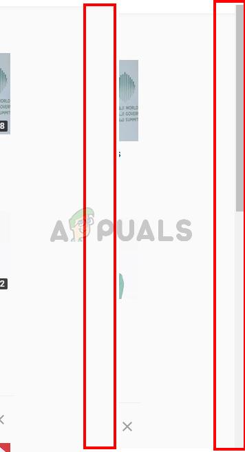 Fix: Chrome Scrollbar verschwindet – Appuals.com