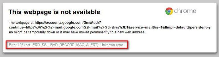 Fix: ERR_SSL_BAD_RECORD_MAC_ALERT – Appuals.com