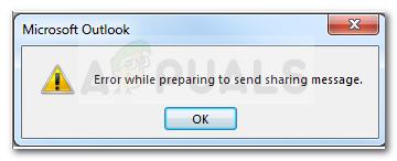So beheben Sie einen Outlook-Fehler beim Vorbereiten des Sendens einer Freigabemeldung