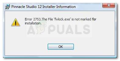 So beheben Sie Fehler 2753 Die Datei ist nicht für die Installation markiert
