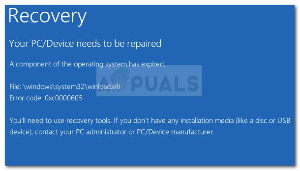 Fix: Fehler 0x0000605 unter Windows 10