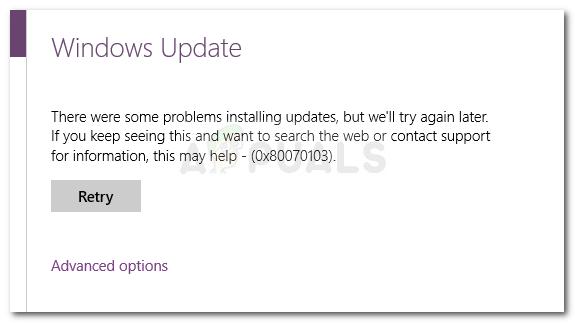 Fix: Fehler 0x80070103 unter Windows 10