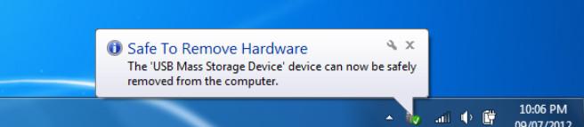 """So bringen Sie das Symbol """"Hardware sicher entfernen"""" zurück"""