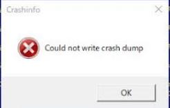 Fix: Wolfenstein 2 konnte keinen Crash Dump schreiben
