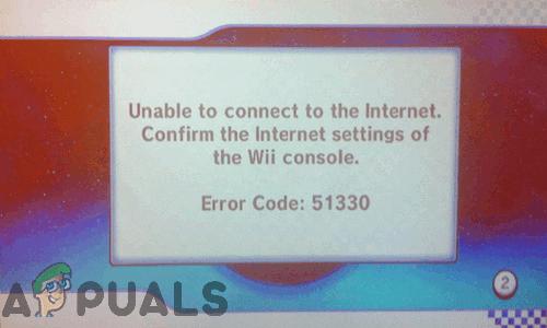 Fix: Nintendo Wii-Fehlercodes '51330, 50299, 51030, 51331, 51332, 52030, 52130'