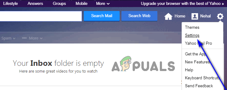 So blockieren Sie unerwünschte E-Mails in Yahoo!  Mail