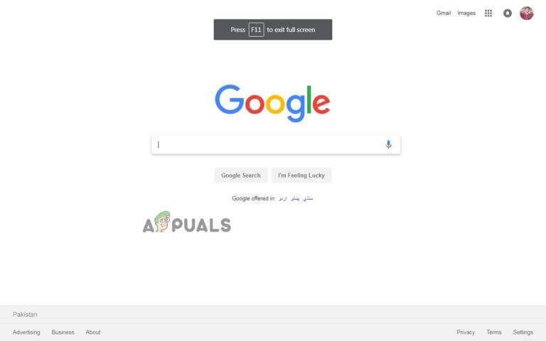 So wechseln Sie in Google Chrome in den Vollbildmodus und verlassen ihn