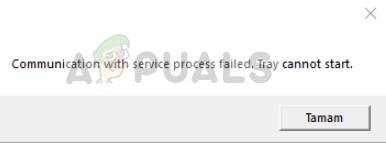 Fix: Die Kommunikation mit dem Serviceprozess ist fehlgeschlagen