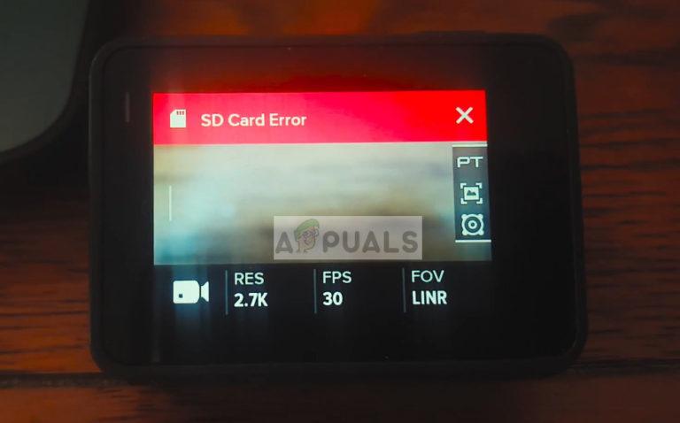 Fix: GoPro SD-Kartenfehler