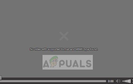 So beheben Sie kein Video mit unterstütztem Format und gefundenem MIME-Typ