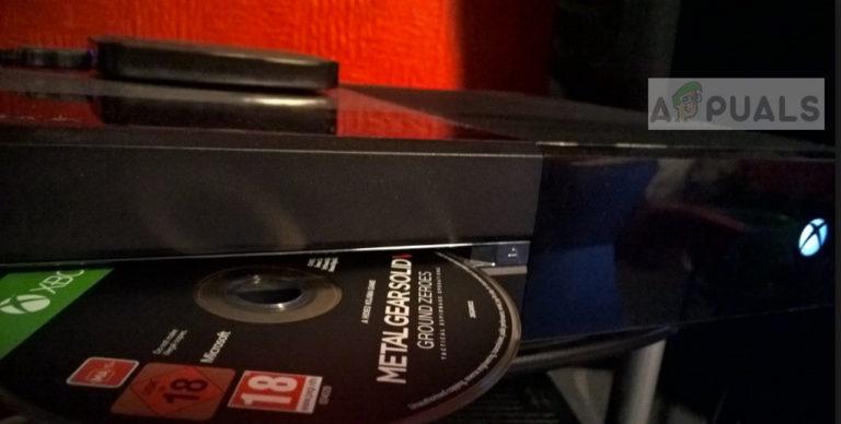 Fix: Xbox One lädt keine Game Disc