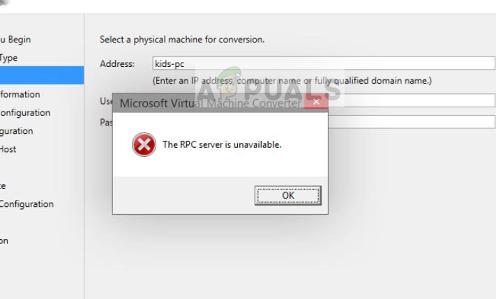 Fix: Backup schlägt mit RPC-Fehler 0x800706BA fehl