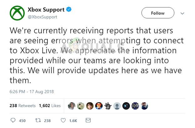 Fix: Es kann keine Verbindung zu Xbox Live hergestellt werden