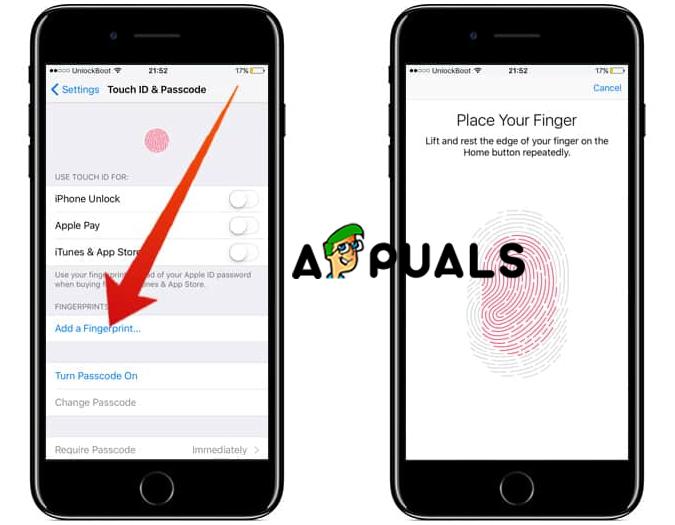 Fix: Touch ID kann auf diesem iPhone nicht aktiviert werden