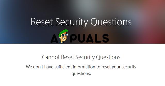 So beheben Sie Probleme beim Zurücksetzen von Apple ID-Sicherheitsfragen