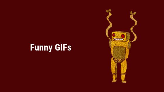Wie finde ich lustige GIFs online?