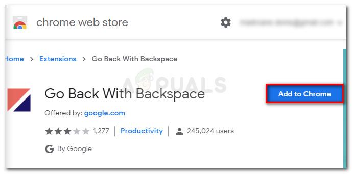 Fix: Backspace-Verknüpfung funktioniert in Google Chrome nicht