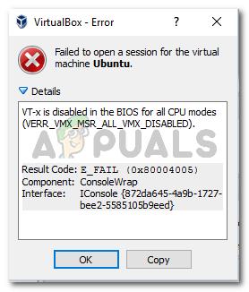So aktivieren Sie VT-X in Windows 10