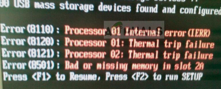 Fix: Fehler bei der thermischen Auslösung des Prozessors
