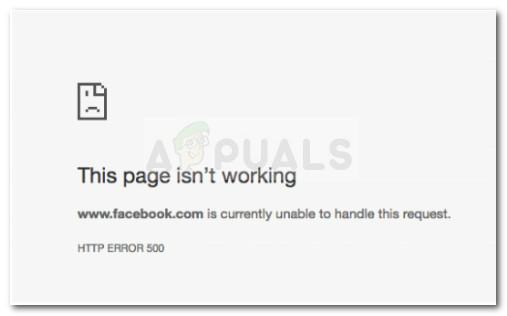 Fix: Facebook kann diese Anfrage derzeit nicht bearbeiten.