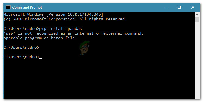Fix: 'pip' wird nicht als interner oder externer Befehl erkannt