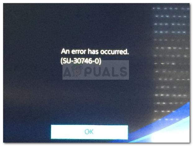 Fix: PS4-Fehler SU-30746-0 – Appuals.com